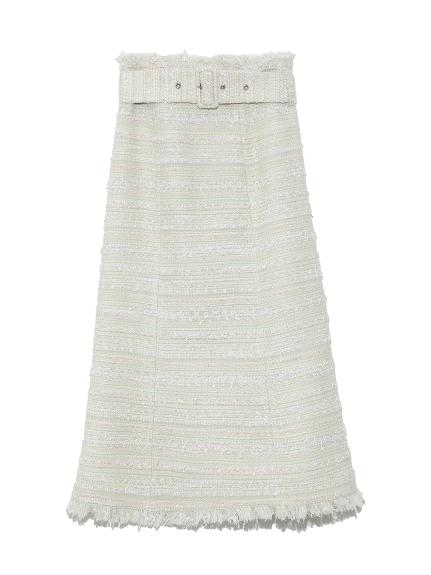 ファンシーツイードスカート(MNT-36)