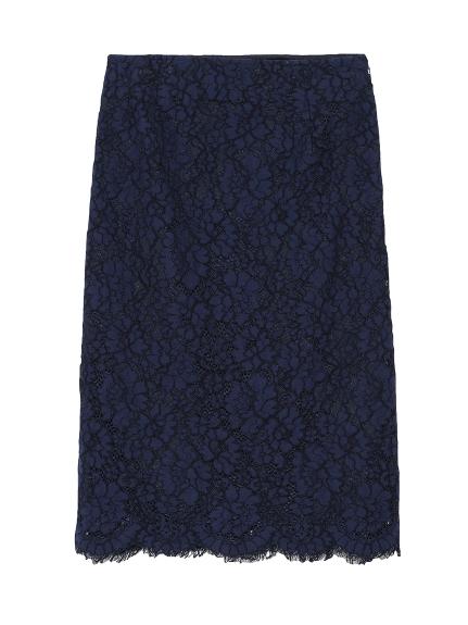 コードレースタイトスカート(NVY-36)